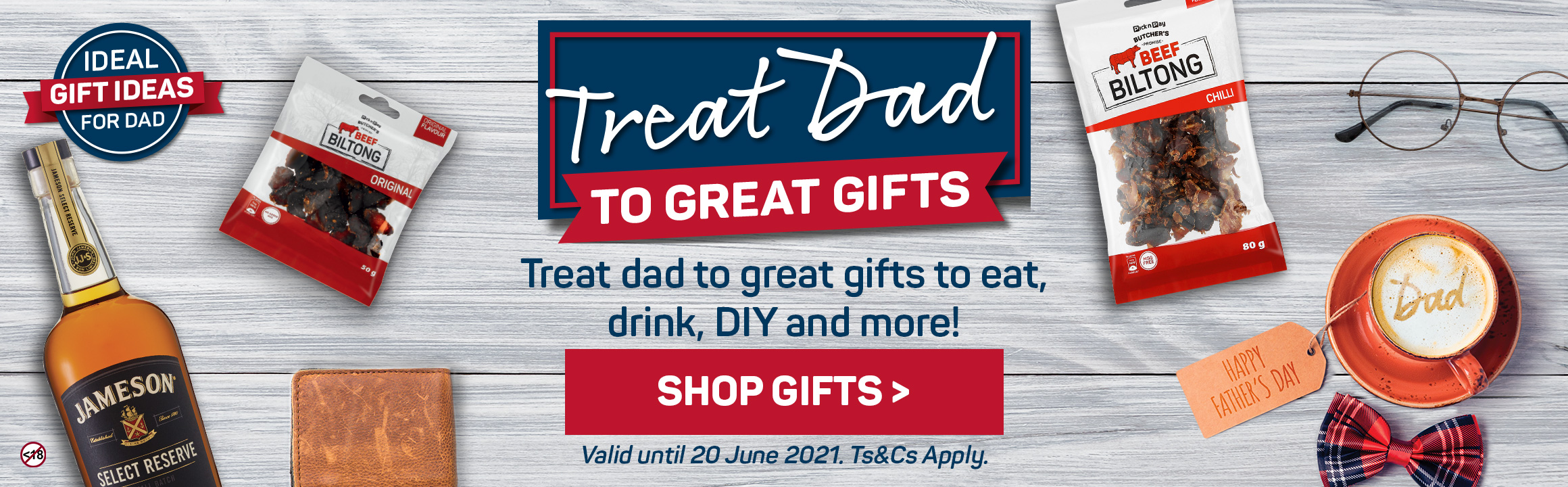 Treat dad to great gifts to eat, drink, DIY and more!
