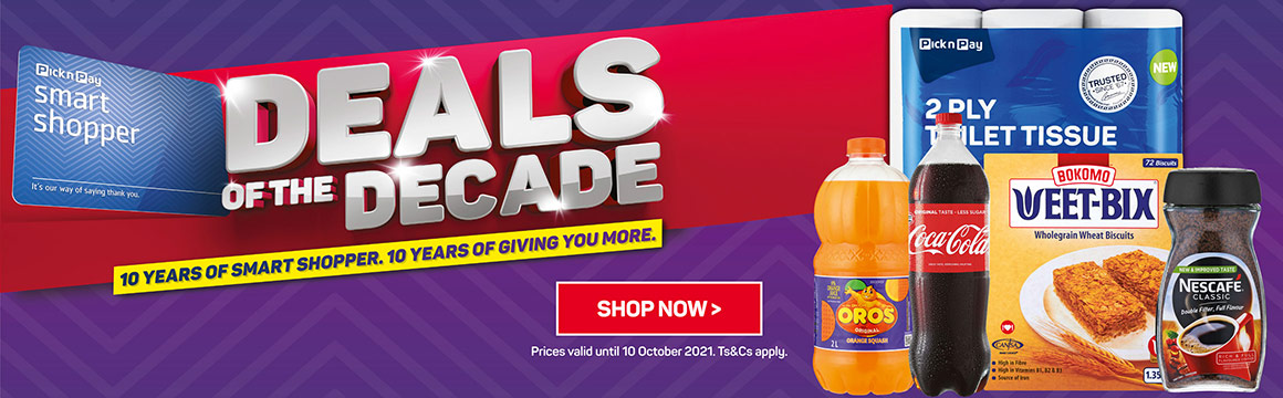 Deals of the decade. Shop now >