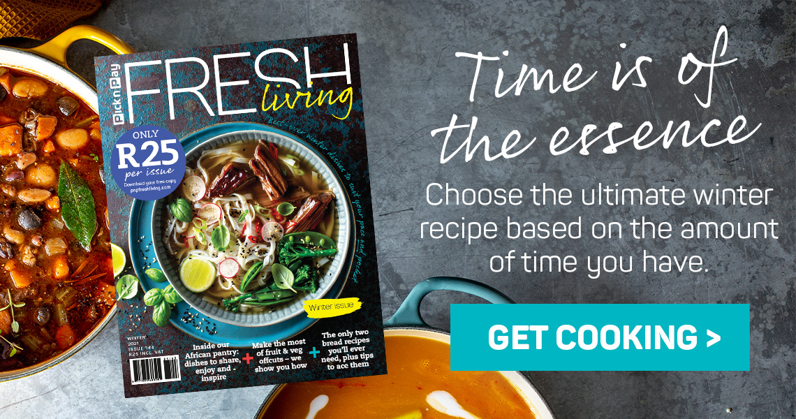 Choose the ultimate winter recipe based on the amount of time you have.