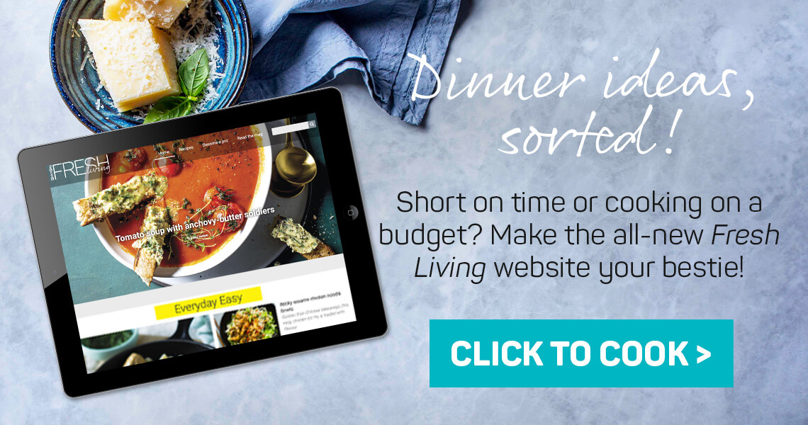 Dinner ideas sorted! Click to cook >