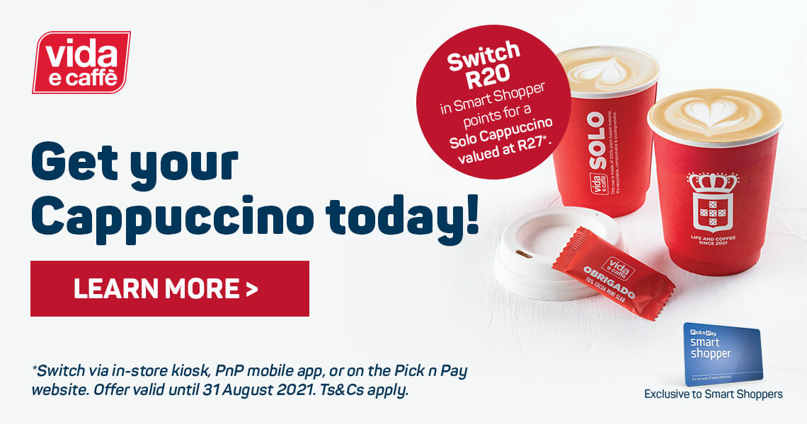 Get your Cappuccino today. Learn more >