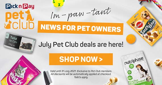July Pet Club deals are here! Shop now >
